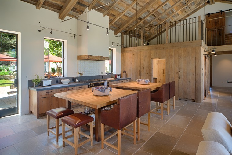 The kitchen is characterised by two 150 x interior design, kitchen, real estate, brown, gray