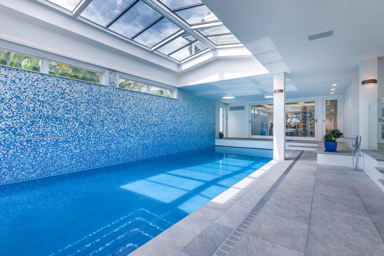 Auckland Inground pools works with a variety of apartment, architecture, ceiling, condominium, daylighting, estate, interior design, leisure, leisure centre, property, real estate, swimming pool, gray