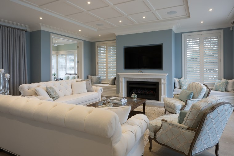 In this home, the colour palette is a ceiling, home, interior design, living room, real estate, room, window, gray
