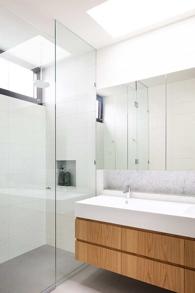 The 5 Key Things to Establish Before You architecture, bathroom, bathroom accessory, bathtub, building, ceiling, floor, flooring, furniture, glass, house, interior design, material property, plumbing fixture, property, room, tap, tile, white