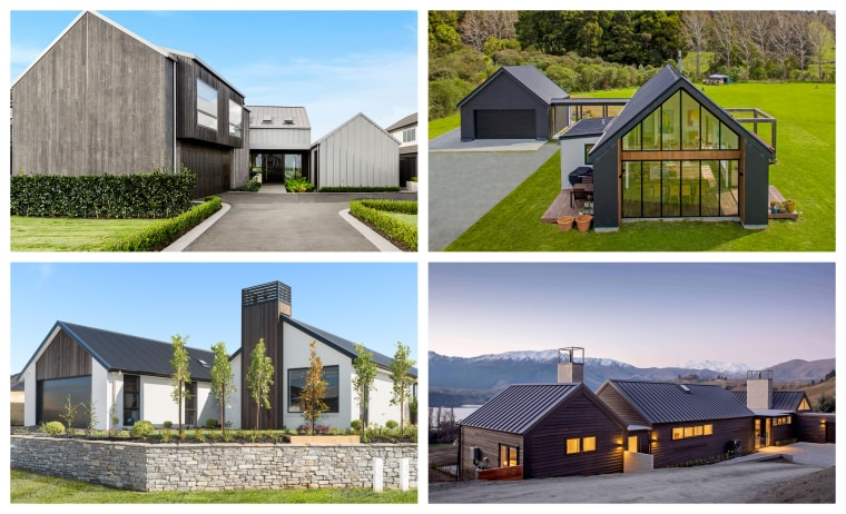 2019 TIDA Homes Group Home Finalists - architecture architecture, building, cottage, facade, farmhouse, home, house, land lot, property, real estate, residential area, roof, gray