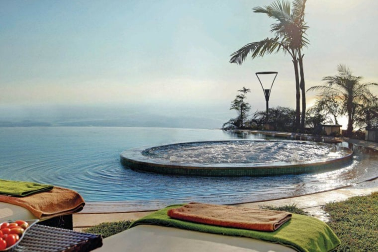 This pool house is sense-ational - arecales | arecales, palm tree, resort, sea, sky, tree, vacation, gray