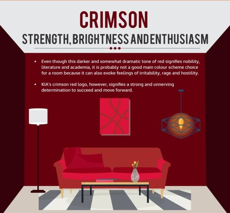 Brighten your home and mind with colour couch, design, furniture, interior design, living room, red, room, text, red, white