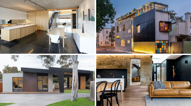 AU Homes Architect winners - apartment | architecture apartment, architecture, building, condominium, estate, facade, furniture, home, house, interior design, mixed-use, property, real estate, residential area, room, gray