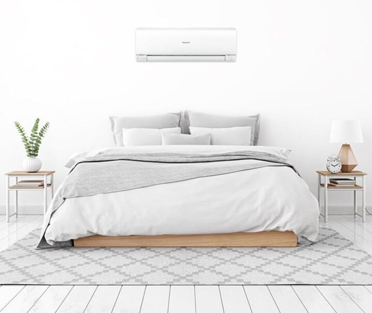Article One  Air Conditioning bed, bed frame, bed sheet, duvet cover, floor, furniture, mattress, product, white
