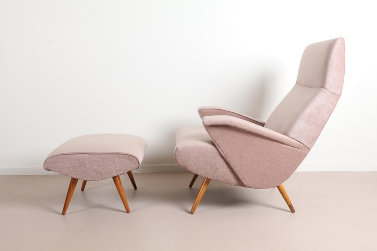 Sometimes it's better to wait until you find chair, comfort, design, furniture, pink, white