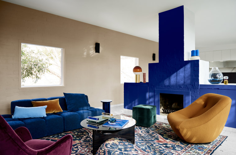 Dulux Colour Forecast 2020 Comeback Palette. Colours: Dulux apartment, architecture, blue, building, chair, coffee table, comfort, couch, design, floor, furniture, home, house, interior design, living room, property, real estate, room, suite, table, wall, gray