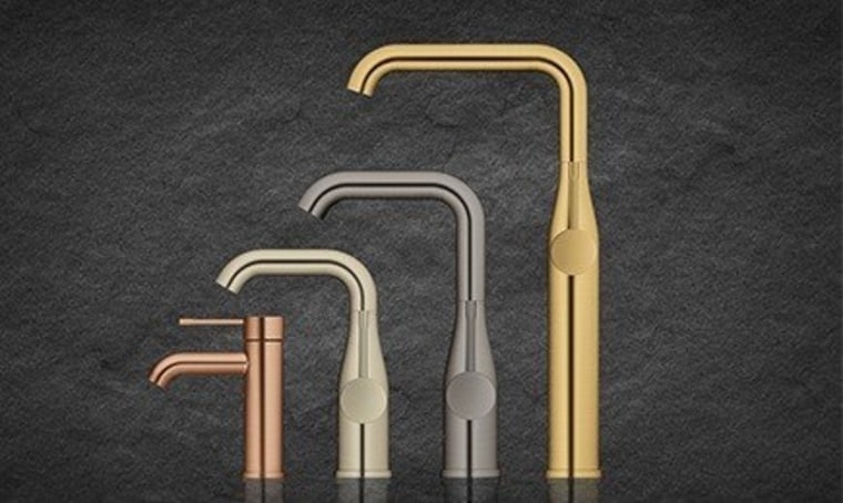 Grohe Colours 2 - font | metal | font, metal, product, black