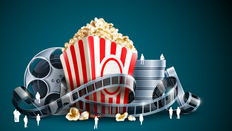 Why are cinema's still an important tenant in computer wallpaper, font, graphic design, graphics, illustration, product, teal