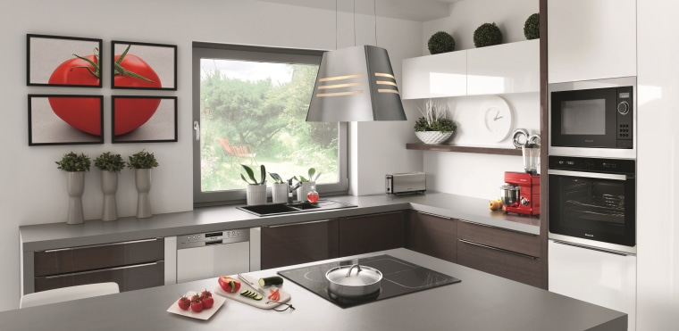 The products featured in this kitchen are available countertop, cuisine classique, home appliance, interior design, kitchen, white, gray