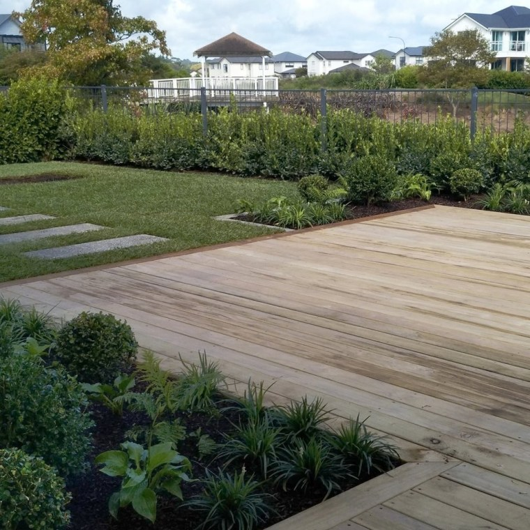 Experienced landscapers can draw on practical and design backyard, garden, grass, groundcover, home, land lot, landscape, landscaping, lawn, path, plant, property, real estate, residential area, road surface, roof, shrub, tree, walkway, yard, gray, brown
