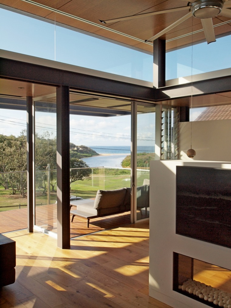 Use a killer view as the main image architecture, ceiling, house, interior design, real estate, window, brown