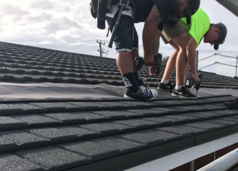 Whether your roof is damaged or worn out, asphalt, roof, roofer, black, gray