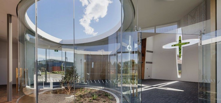 Sisters of Mercy 2 - apartment | architecture apartment, architecture, building, ceiling, facade, glass, headquarters, home, house, interior design, property, real estate, residential area, gray