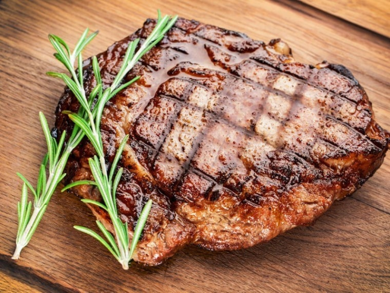 The Perfect Steak – Broil King - animal animal source foods, beef, beef tenderloin, flat iron steak, food, grillades, lamb and mutton, meat, meat chop, pork chop, pork steak, red meat, rib eye steak, roast beef, roasting, sirloin steak, steak, orange