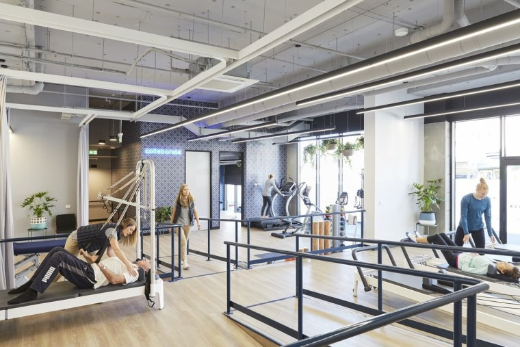 Upwell Health Collective – Siren Design Group Pty real estate, structure, white, gray