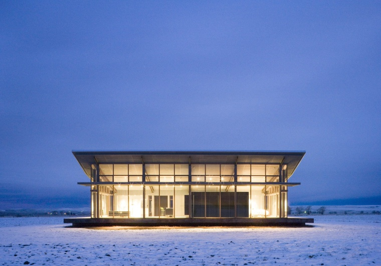 Architect: Olson Kundig Architects  architecture, building, home, house, sea, sky, water, blue