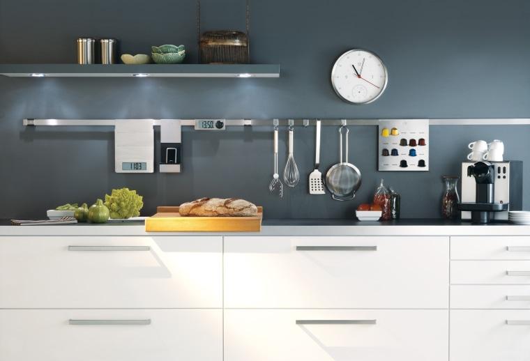 The Studio of Tableware – Rosle Open Kitchen countertop, cuisine classique, furniture, home appliance, interior design, kitchen, kitchen appliance, kitchen stove, product, product design, small appliance, white, gray