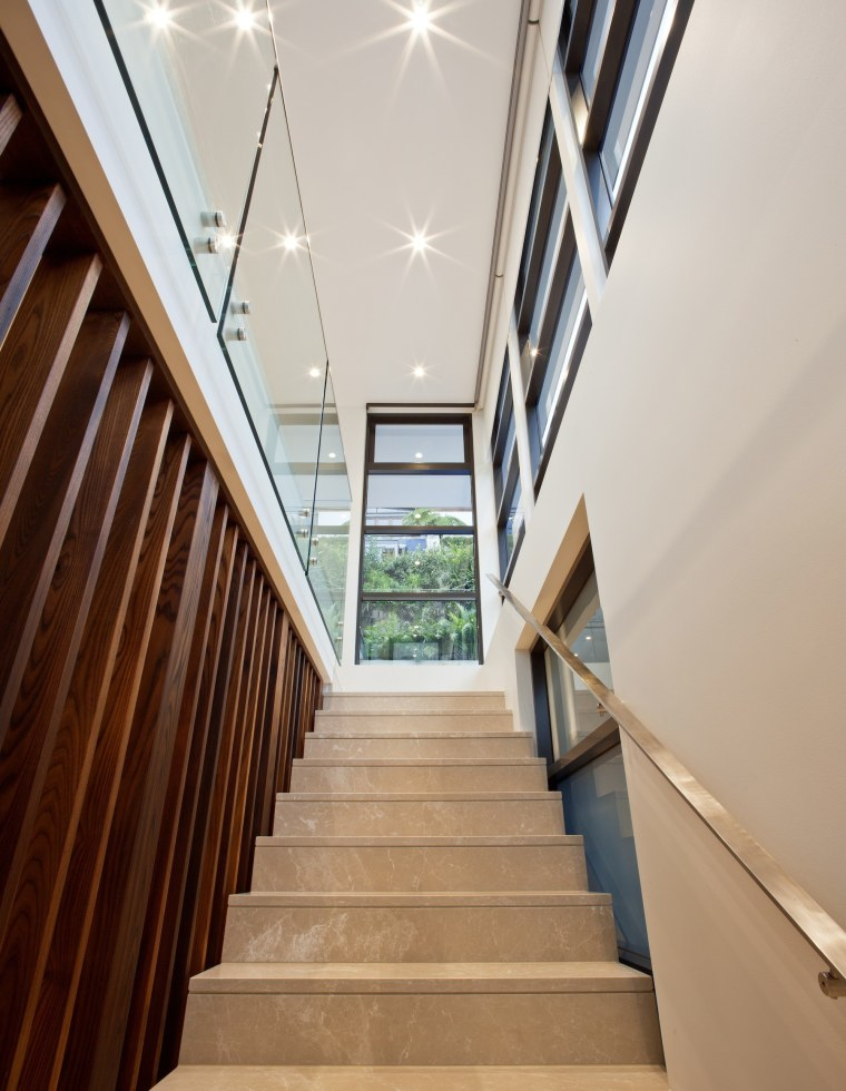 TIDA AU 2017 – Designer new home winner apartment, architecture, ceiling, daylighting, estate, floor, handrail, house, interior design, lobby, property, real estate, stairs, window, gray