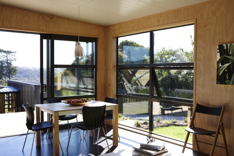 While New Zealanders find privacy in their homes, home, house, interior design, property, real estate, window, brown, white