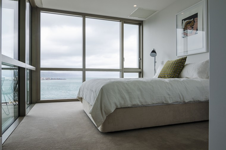 Match your carpet to your lifestyle. - Selecting architecture, bed, bed frame, bedroom, daylighting, door, floor, home, house, interior design, property, real estate, room, window, window covering, gray