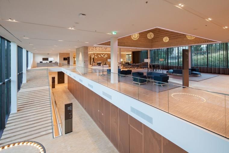 Eurojust estate, interior design, leisure centre, lobby, real estate, gray