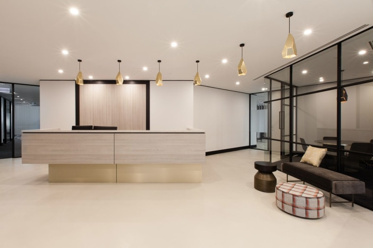 Austbrokers Countrywide – New office designed by A1 ceiling, floor, flooring, interior design, living room, lobby, product design, property, real estate, gray