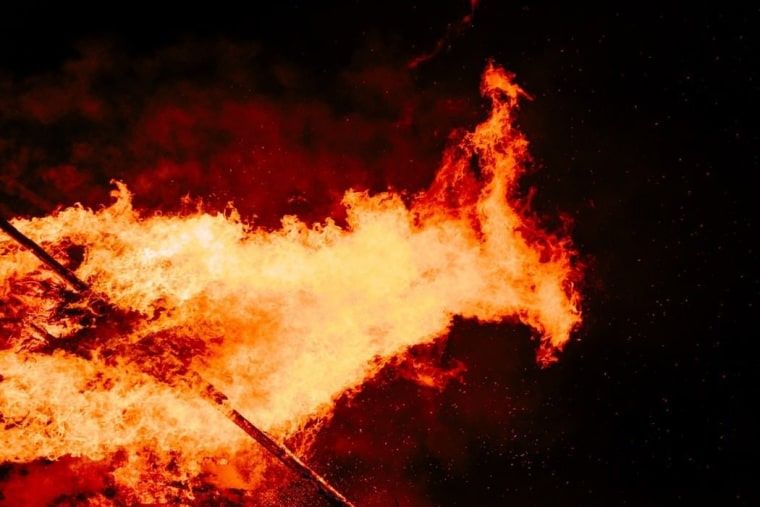 When it comes to fire safety, basic oversights atmosphere, atmosphere of earth, bonfire, explosive material, fire, flame, geological phenomenon, heat, phenomenon, sky, smoke, wildfire, black, orange