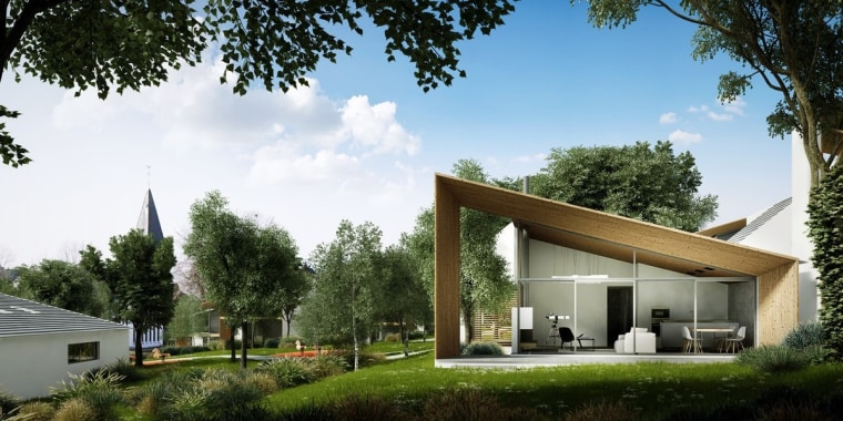 The villas are equally liveable during summer architecture, cottage, estate, farmhouse, home, house, property, real estate, brown, white