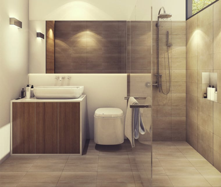 Bathroom heating bathroom, ceramic, floor, flooring, interior design, laminate flooring, plumbing fixture, room, sink, tile, wall, wood flooring, brown, orange