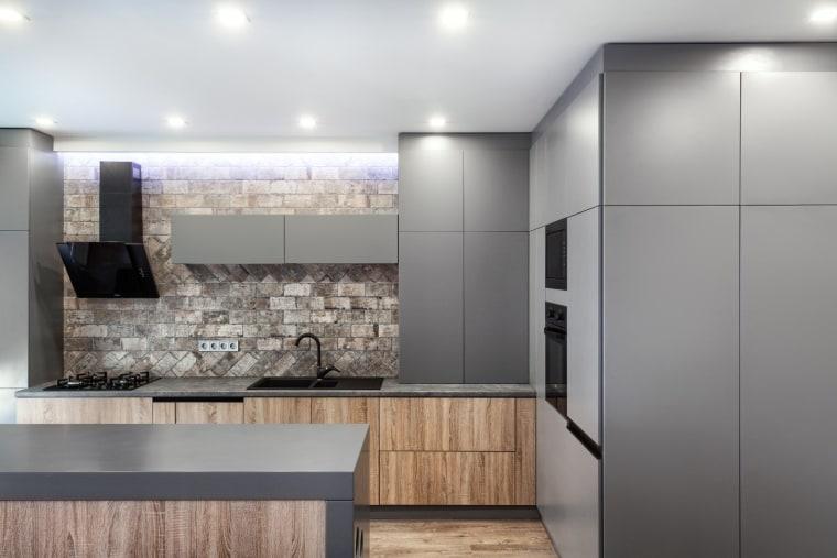 Architect: Martin ArchitectsPhotography by Alexander Kondrianenko architecture, cabinetry, countertop, floor, interior design, kitchen, product design, gray