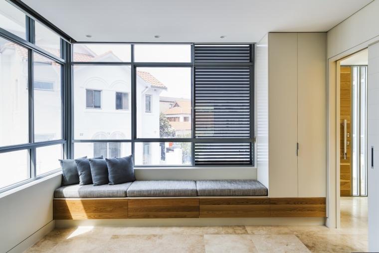 TIDA AU – Architect-designed new home winner – architecture, door, floor, house, interior design, window, gray, white