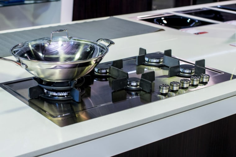 two standard sizes: 60cm and 90cmtouch control panels cooktop, appliance