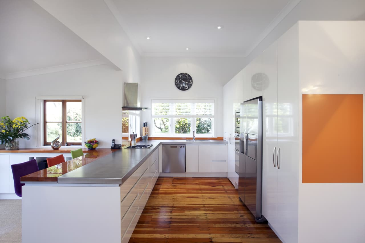 Clean Faced Modern Kitchen By Rh Cabinetmakers Trends