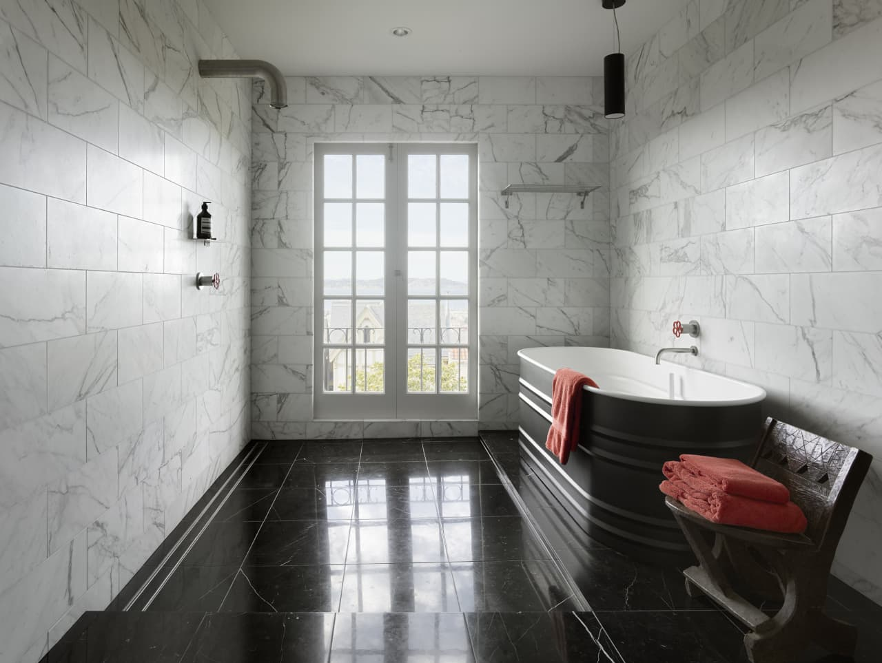 Classic Marble Surfaces Meet Modern Boffi Design Trends