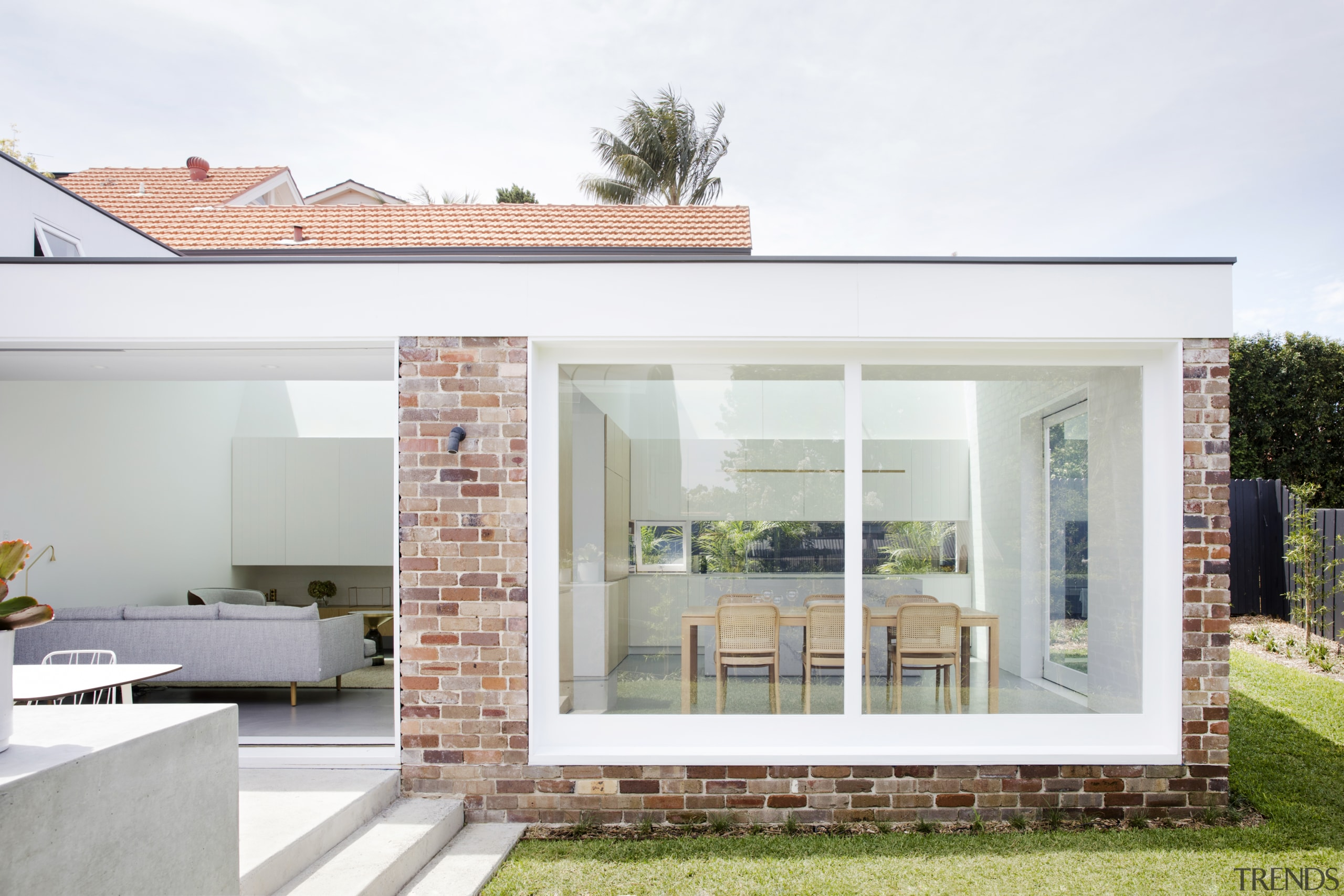Transparent agenda – this contrasting extension to a architecture, home, house, residential area, extension, Studio Prineas