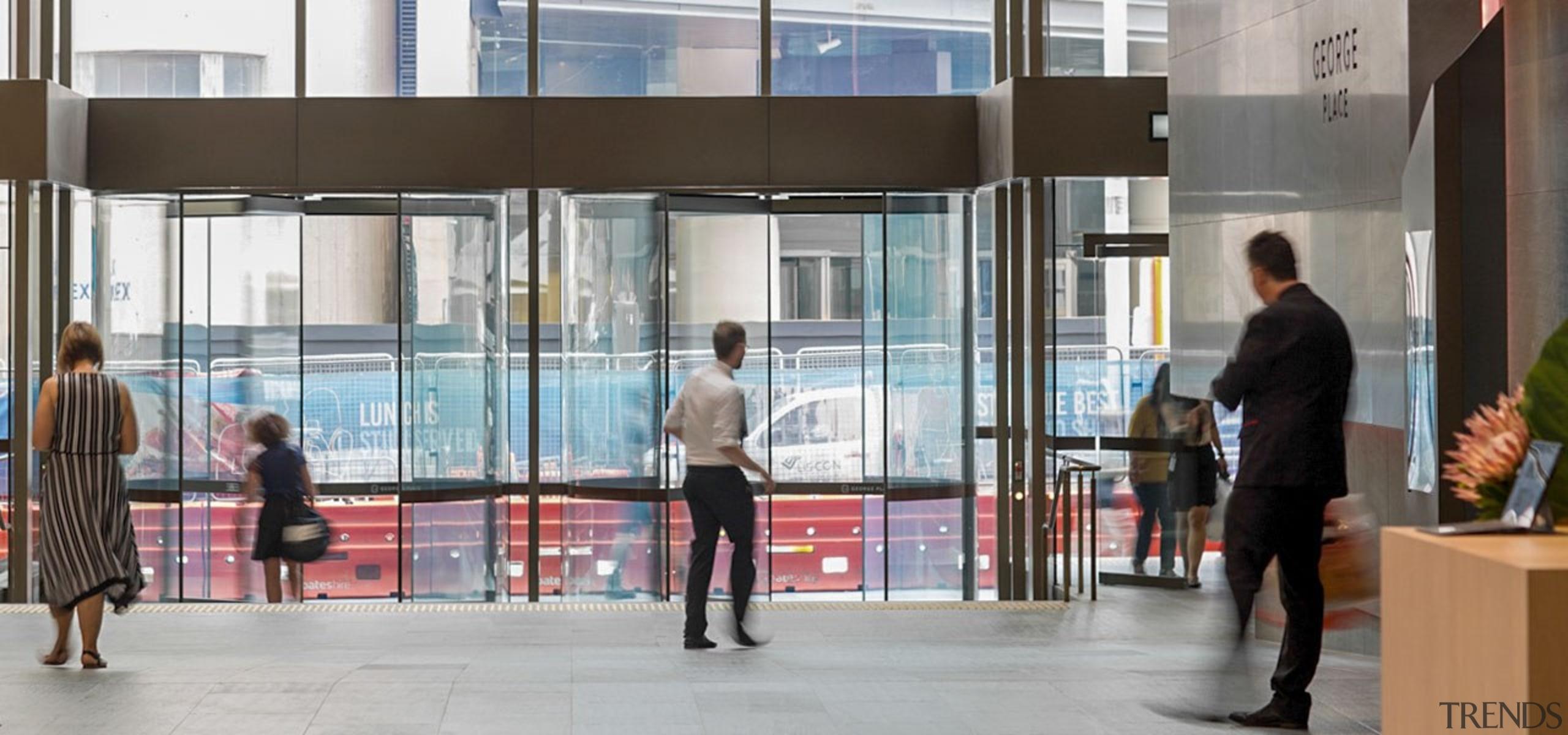 George Place 06 - architecture   building   architecture, building, facade, glass, metropolitan area, pedestrian, window, gray