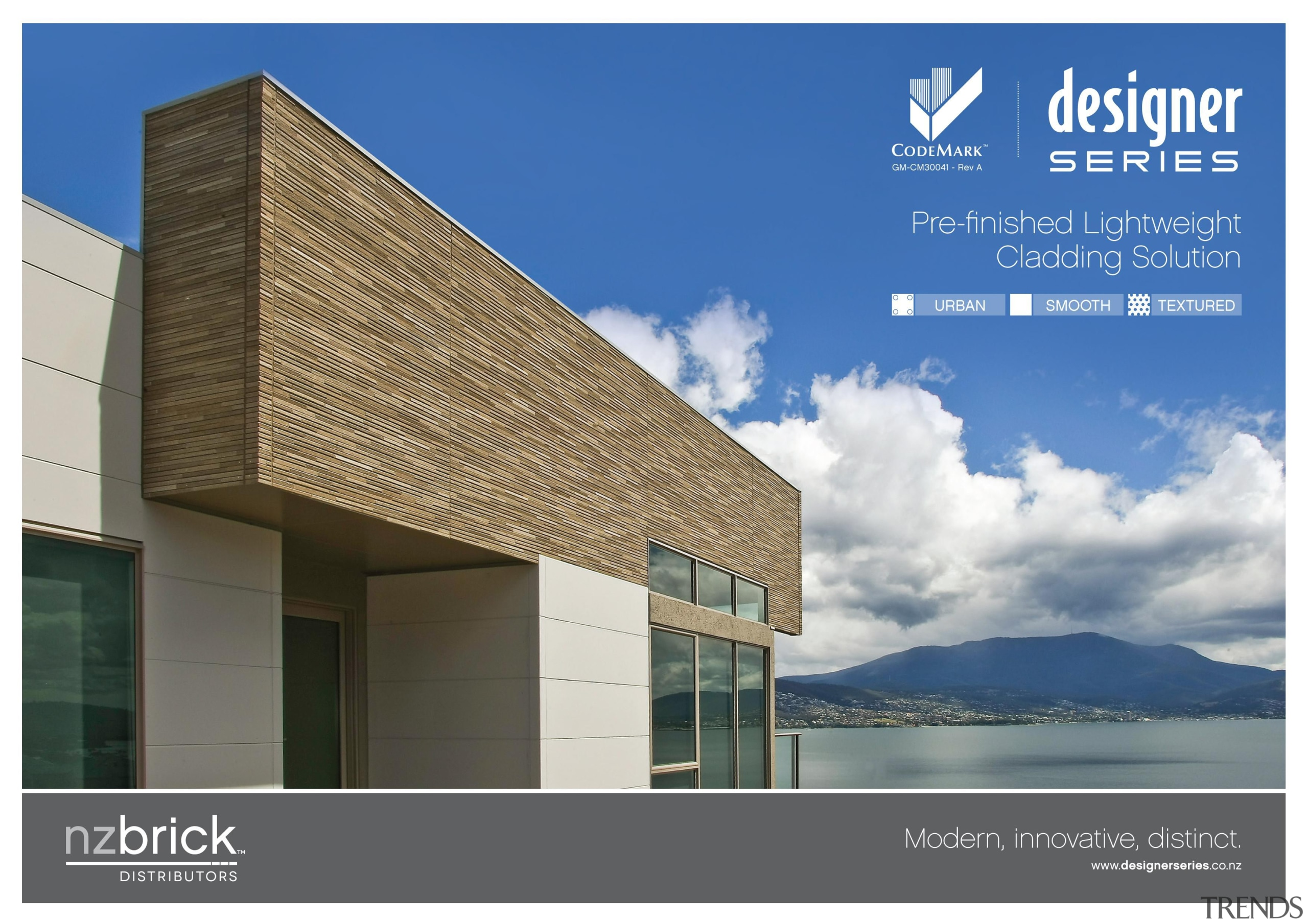The Designer Series™ range gives you the opportunity architecture, corporate headquarters, elevation, facade, home, property, real estate, roof, sky, blue