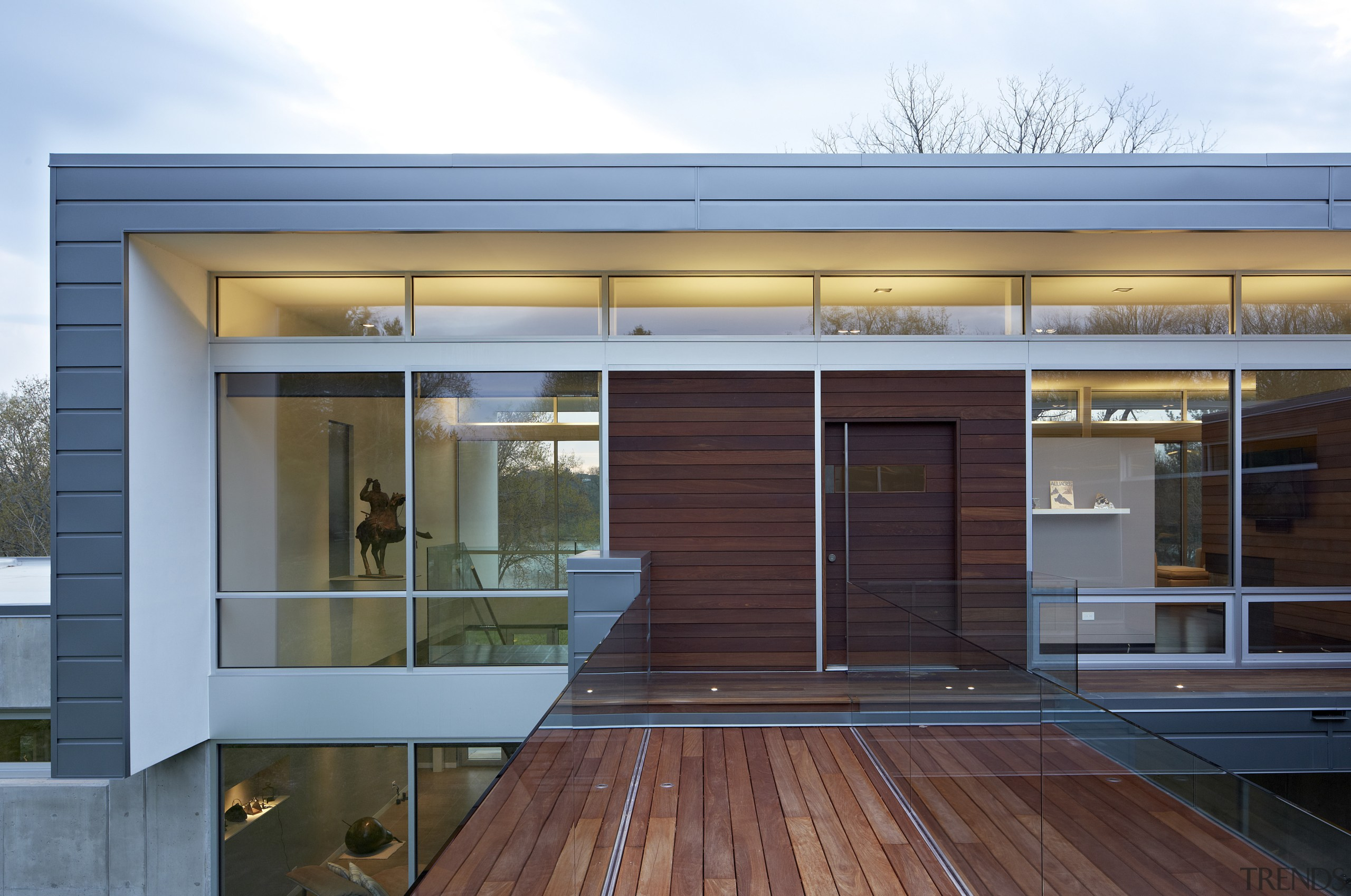 The main entry to this home is via architecture, facade, home, house, real estate, siding, window