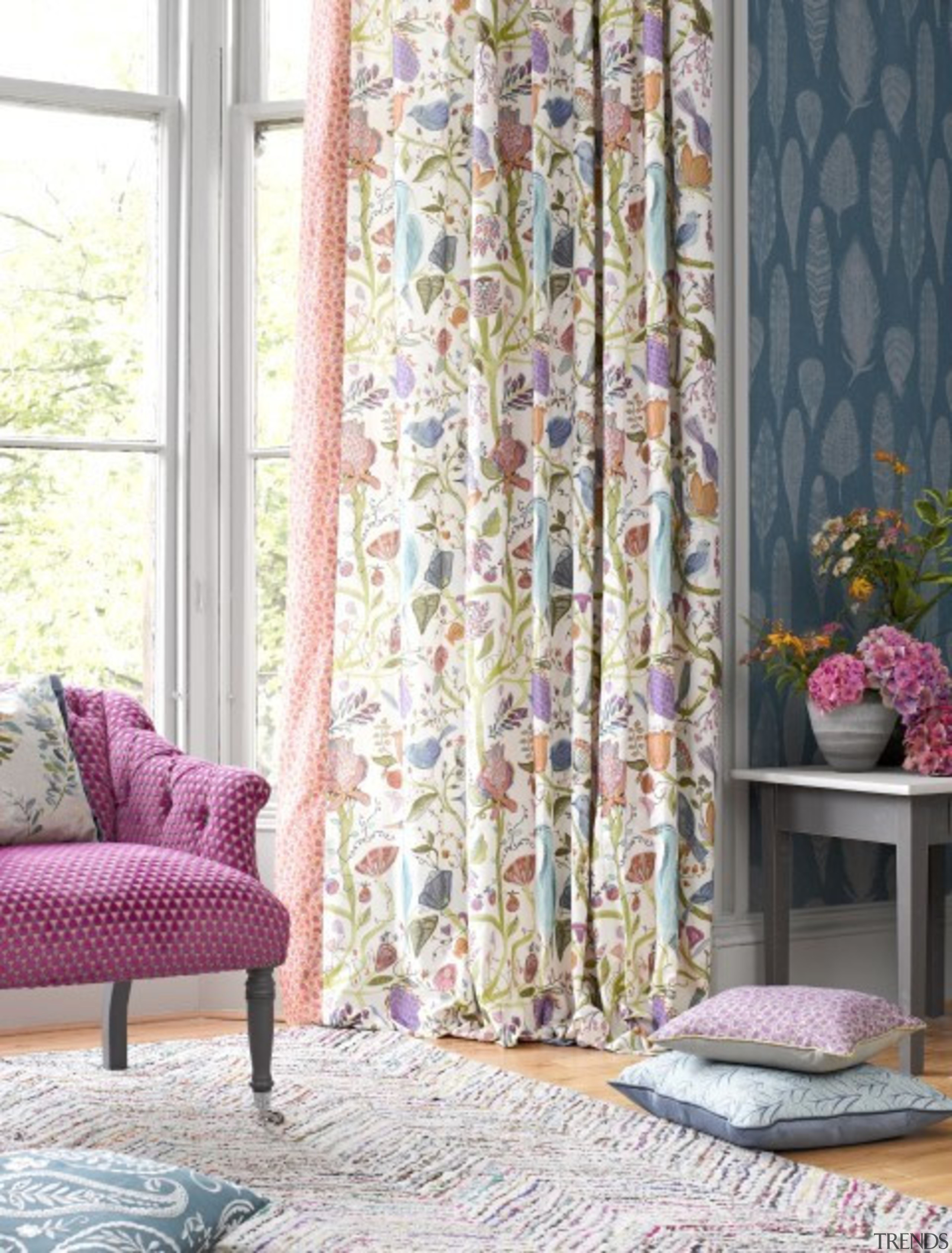 Check out more. curtain, decor, interior design, living room, textile, window, window covering, window treatment, white