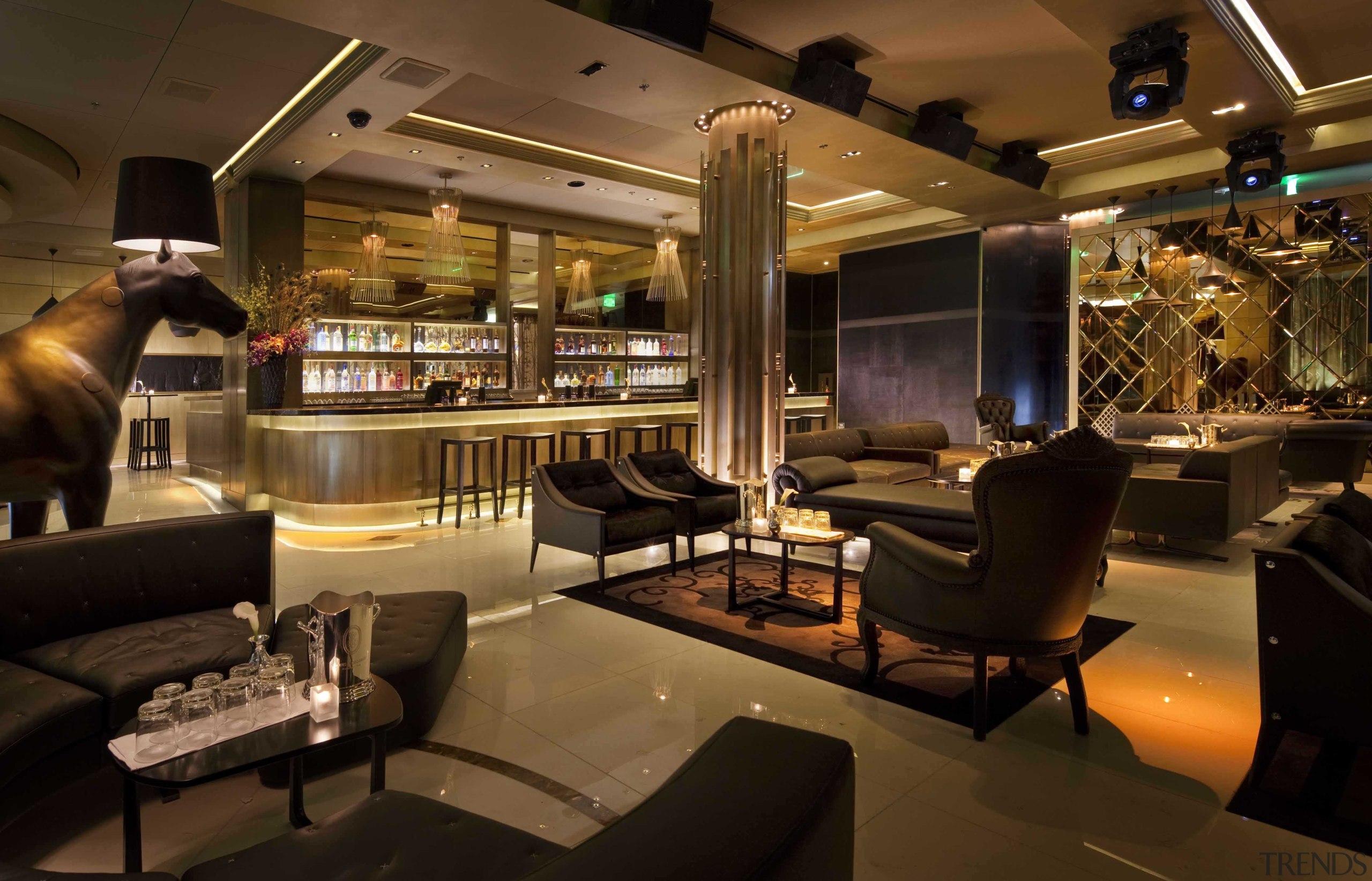 CityCenter, Las Vegas - CityCenter, Las Vegas - bar, café, interior design, restaurant, brown, black
