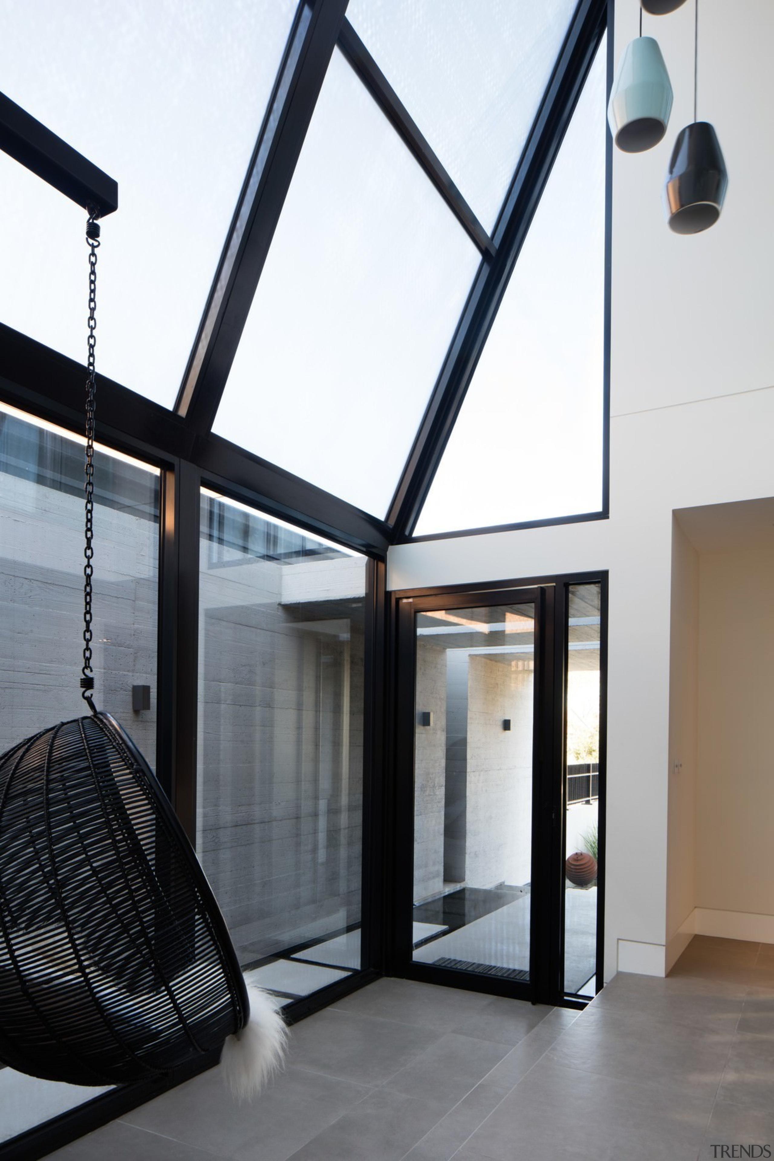 Architect: Damon HillsPhotography by Nic Granleese architecture, building, daylighting, glass, house, lighting, window, white