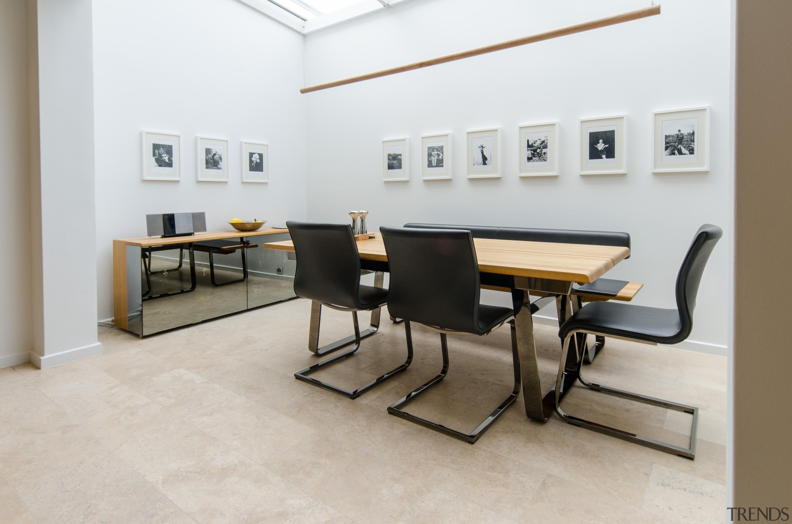 Pepper Design - Team 7 Kitchen - chair chair, floor, flooring, furniture, interior design, office, product design, table, white, gray