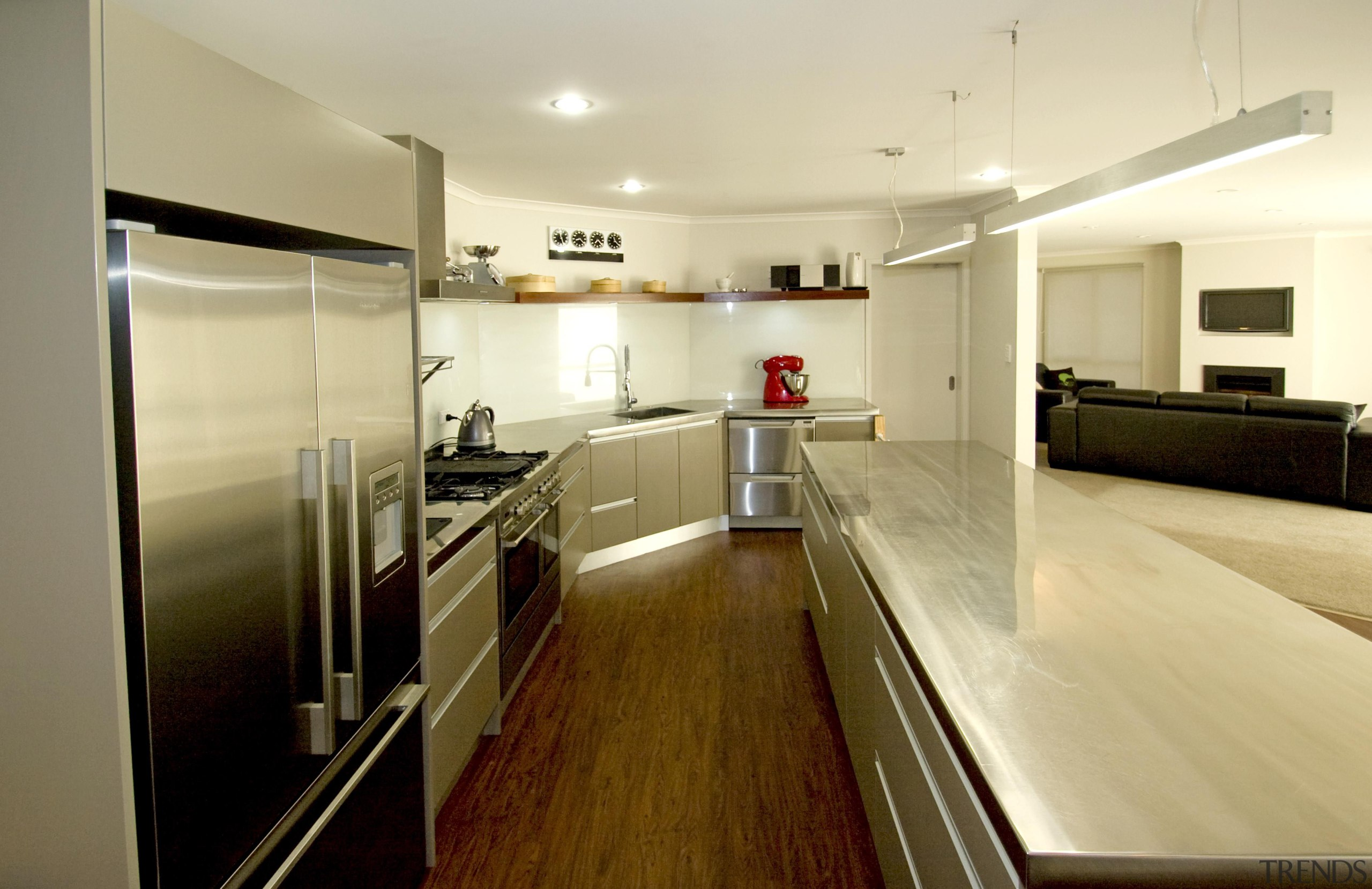 For more information, please visit www.gjgardner.co.nz countertop, floor, flooring, interior design, kitchen, real estate, room, yellow, brown