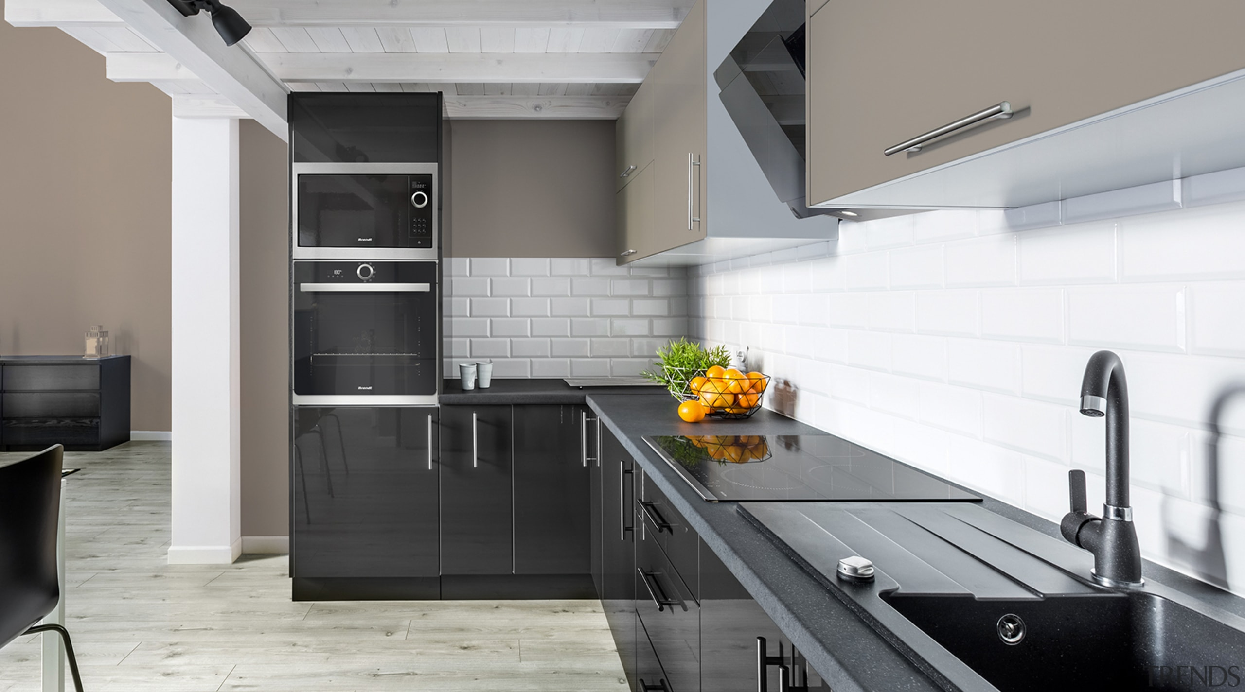 French appliance style, quality and value for money architecture, building, cabinetry, ceiling, countertop, floor, flooring, furniture, home, house, interior design, kitchen, kitchen stove, material property, property, real estate, room, tile, gray, white