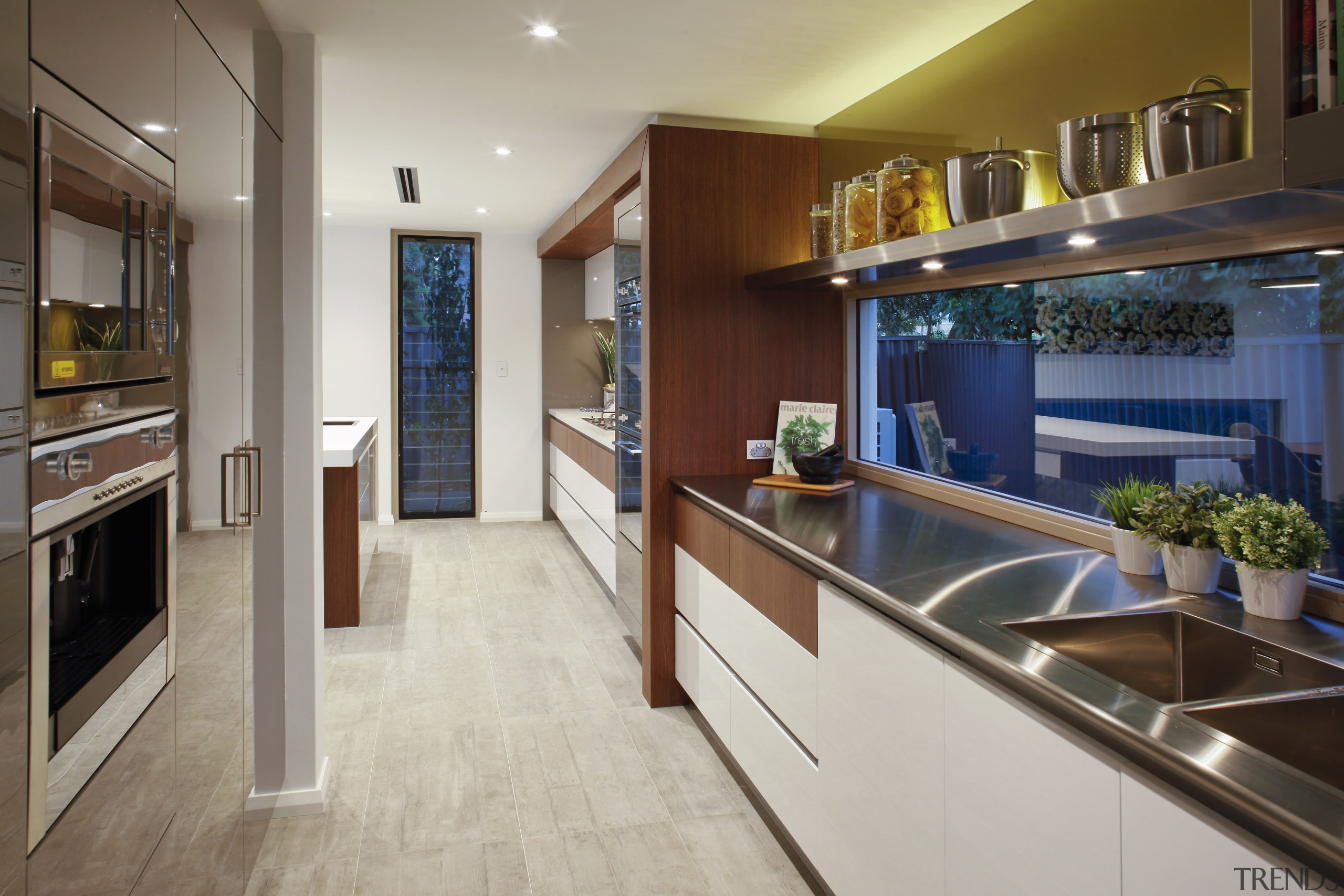 The cabinetry in this award-winning kitchen extends into cabinetry, countertop, cuisine classique, interior design, kitchen, real estate, room, gray, brown