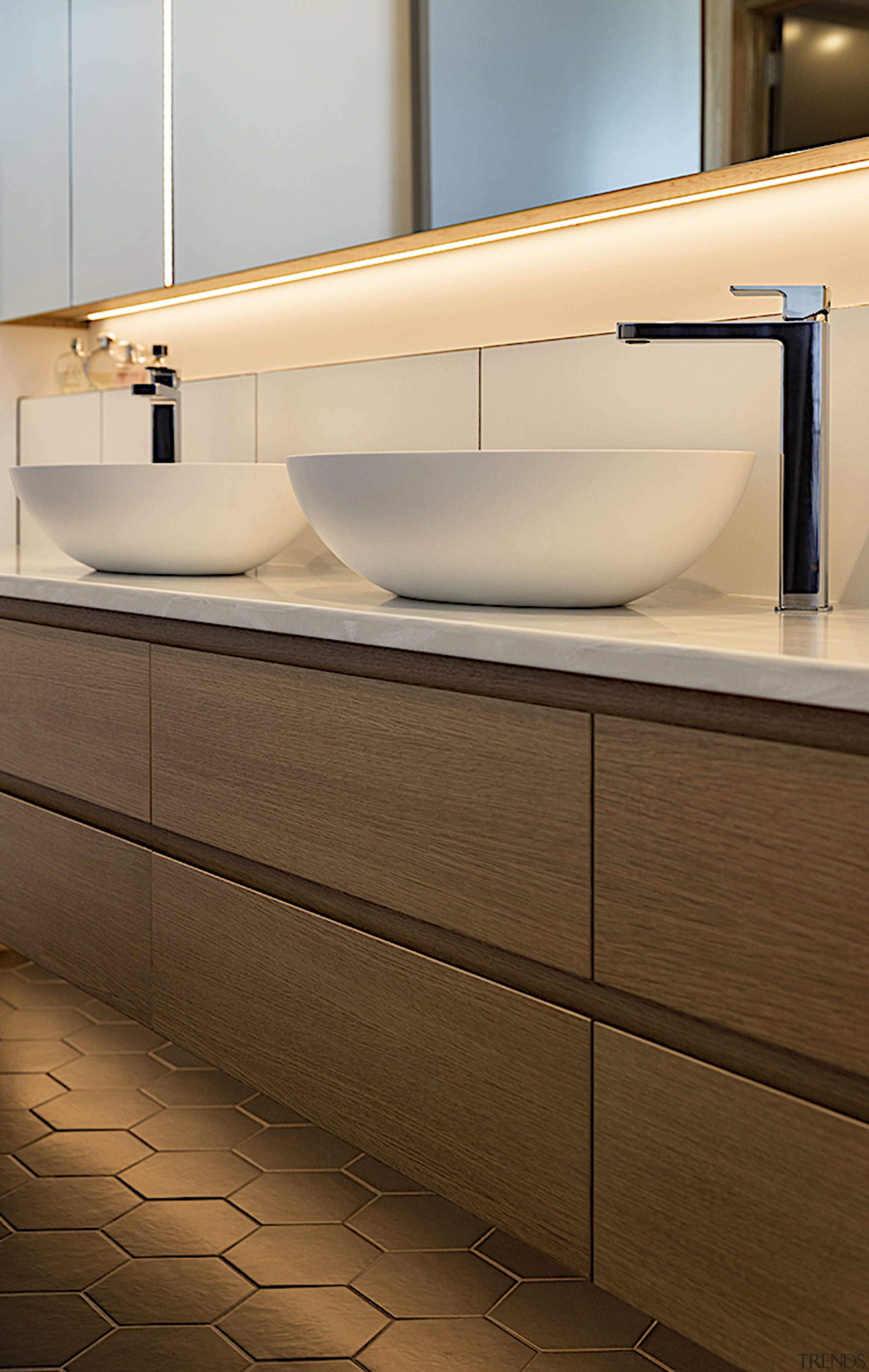 Finely crafted wood joinery runs right through the