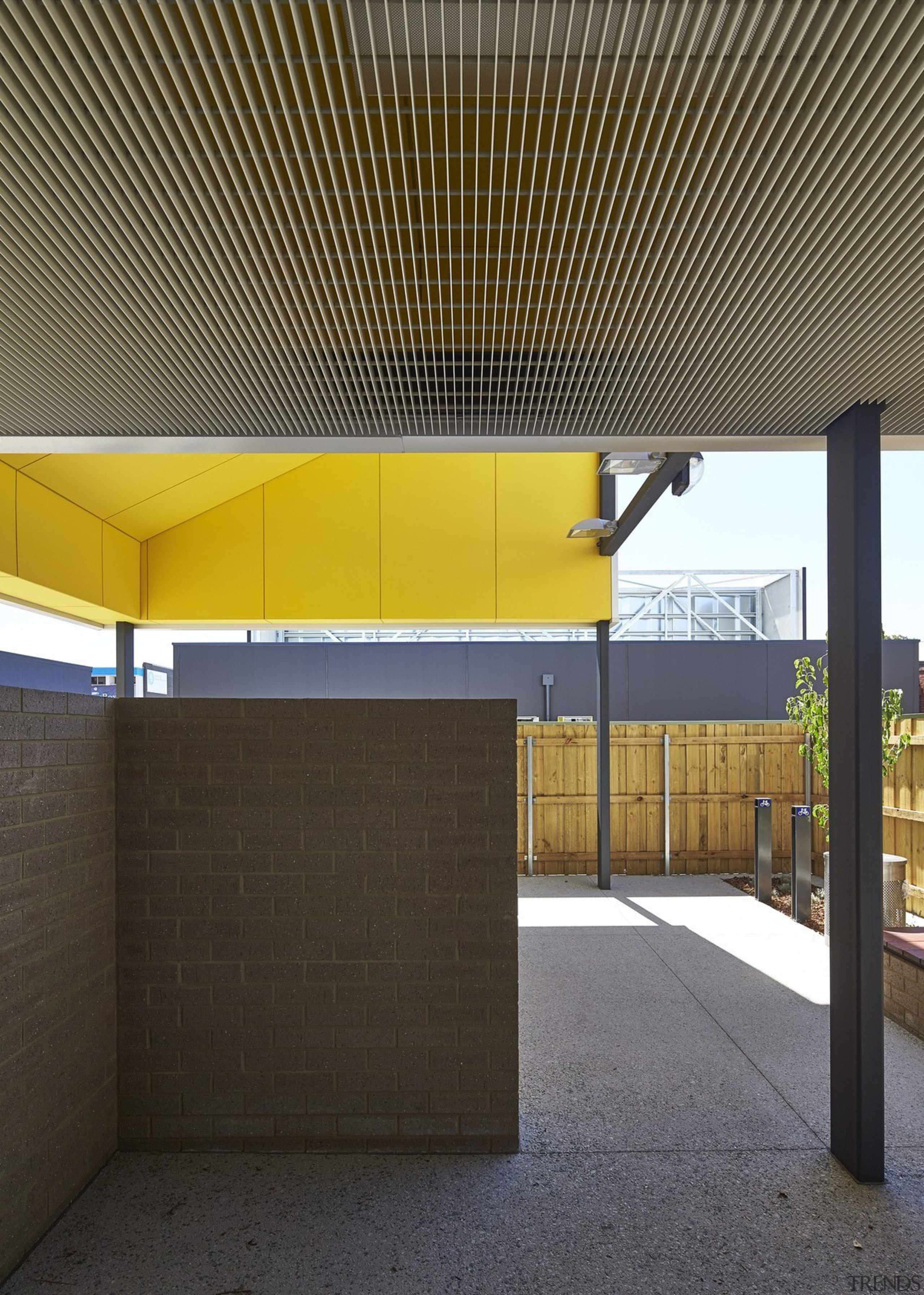 Tom Fisher House - Tom Fisher House - architecture, ceiling, daylighting, house, black