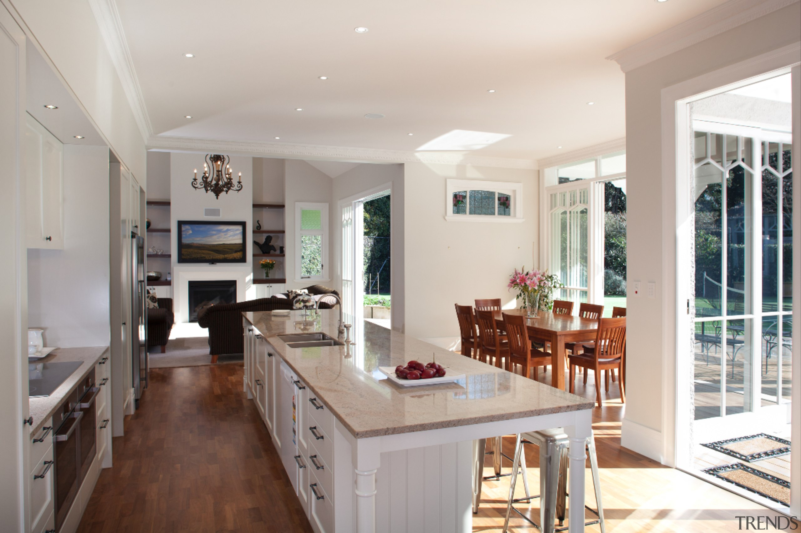 Epsom - countertop | home | interior design countertop, home, interior design, kitchen, living room, real estate, room, window, gray
