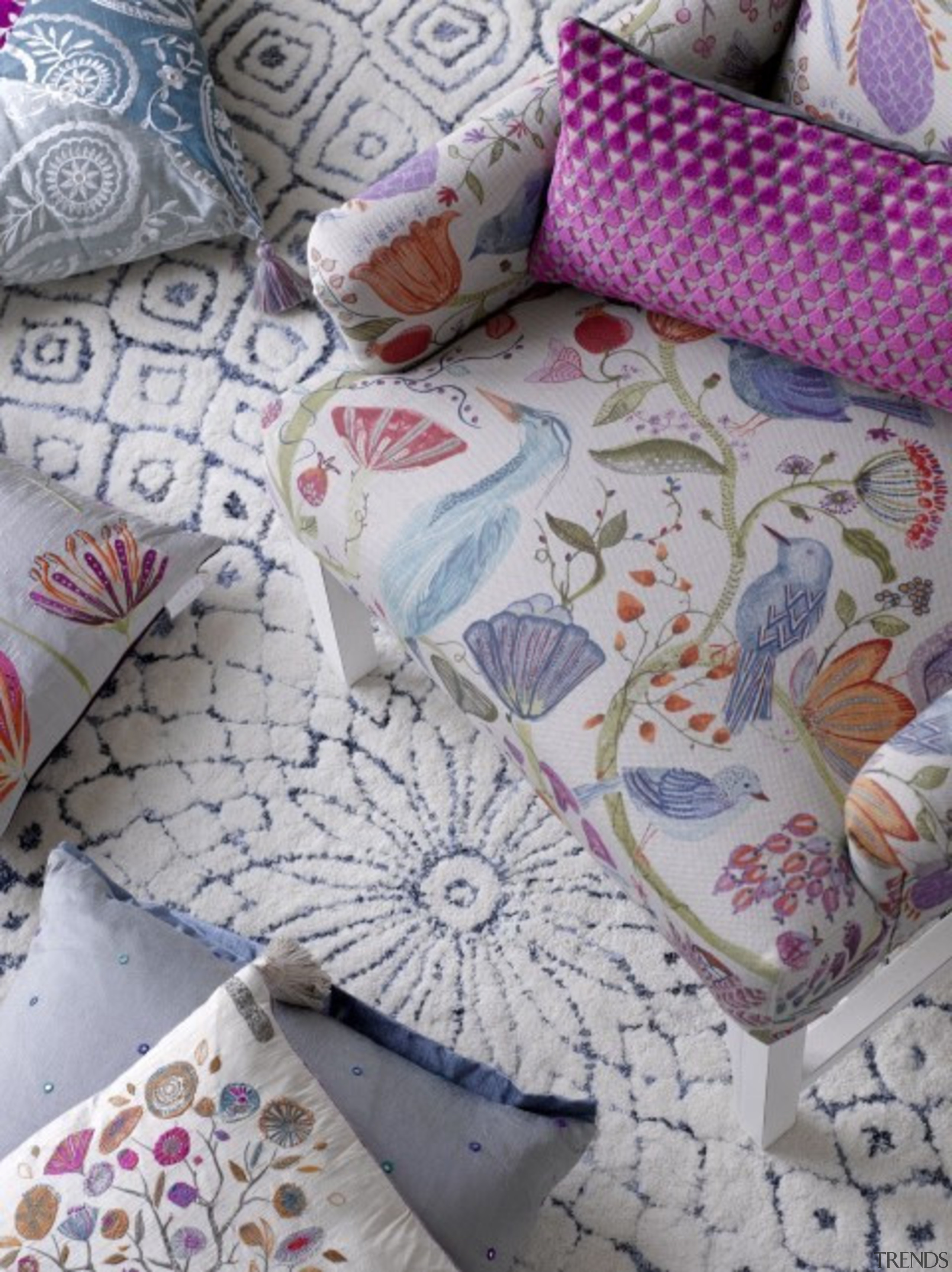 Check out more. bed sheet, cushion, purple, textile, gray